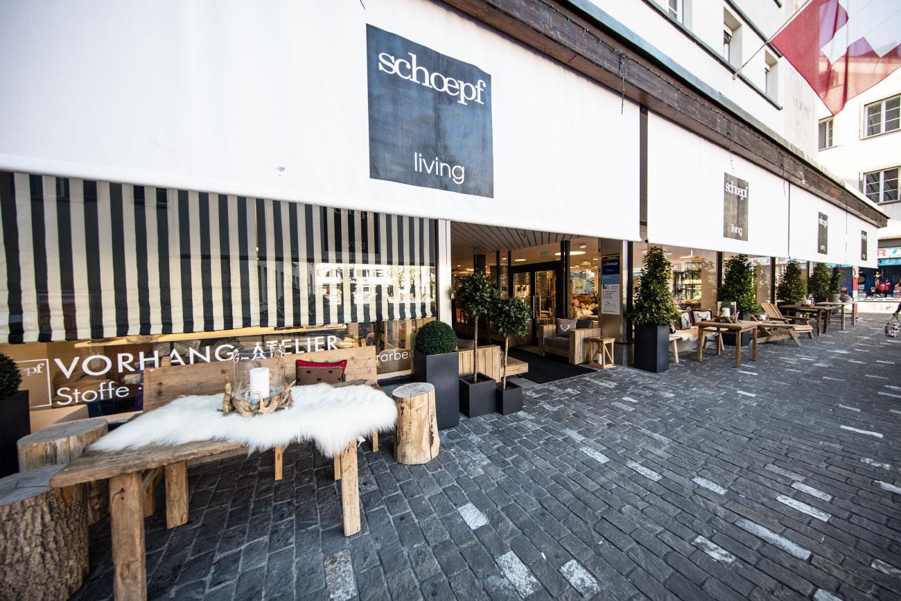 Schöpf Living Einrichtungshaus In Chur Altstadt